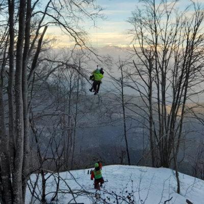 Supino, escursionista salvato dal Soccorso Alpino. Carpineto: l'appello del sindaco